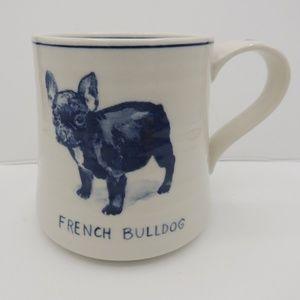 Molly Hatch French Bulldog Mug  Anthropologie